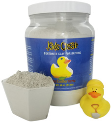Bentonite clay for kids